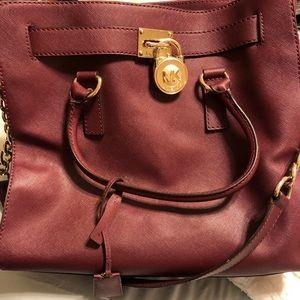 Michael Kors bag with key for lock